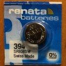 1-Renata 394 Battery SR936SW SR45 Silver Oxide
