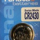 CR2430 Renata DL2430 ECR2430 LM2430 KCR2430  battery