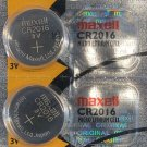 2- CR 2016 MAXELL 2016 LITHIUM BATTERIES 3V Watch