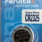 CR2325 Renata BR2325 ECR2325 K223L  battery