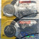 2- CR1620 MAXELL LITHIUM BATTERIES 3V Watch 1620