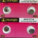 2 - AG4 - Tianqiu 4Qt 376 377 LR626 1.5V  battery batteries
