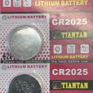 2 - CR2025 Tiantan ECR2025 DL2025 Battery