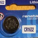 1-Renata CR1632- 1QT CR 1632 DL1632 BR1632 3 Volt Lithium battery