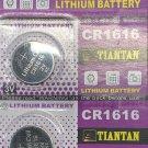 2 - TIANTAN CR 1616 BR1616 ECR1616 5021LC Lithium battery