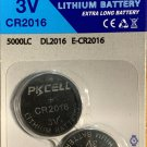 2-CR2016 PKCell New Packaging DL2016 BR 2016 Lithium 3V  battery