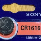 1-Sony 1616 CR1616 BR1616 ECR1616 5021LC Lithium Battery Qt.1