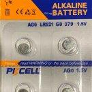 2-AG0 (4 Qt.) PKCell LR63 179 LR521 379 1.5V/10mAh battery batteries