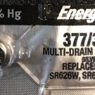 1 Energizer 377/376 Watch Battery SR626SW SR626W V377