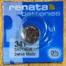 1-341 Renata SR714SW V341 D341 E341 1 Battery