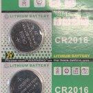 2- TIANTAN CR2016 DL2016 BR 2016 Lithium Battery 3V