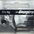Energizer 335 SR512SW SR512 S60 1 pce Battery