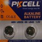 AG9 PKCell LR45 LR194 LR936A 1.5V Alkaline Battery