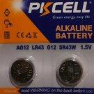 AG12 PKCell LR43 386 LR1142 1.5V Alkaline Battery Watch