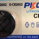 1pce PKCELL CR2032 BR2032 ECR2032 Battery