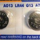 AG13 PKCell SR44 LR44 303 A76 357 1.5V Button cell  battery