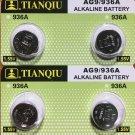 2-AG9 (4 Qt.) Tianqiu LR45 LR194 LR936A 1.5V  battery