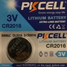 1 -CR2016 PKCell DL2016 BR 2016 Lithium Battery 3V