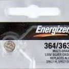 Energizer 364/363 SR621W SR621SW 1pc Battery