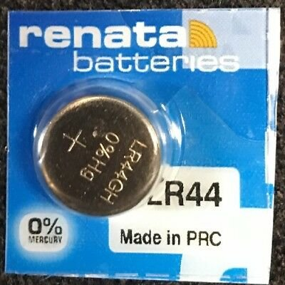 1- Renata LR44Battery,  Alkaline A76 357 AG13
