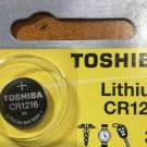 Toshiba CR1216 Lithium Button Cell Battery Remote