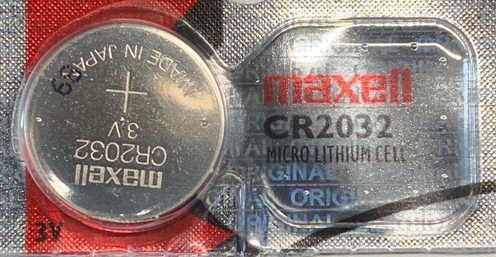 1 Maxell CR2032 ECR 2032 Battery 3V Sealed