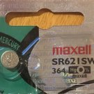 364 Maxell AG1 164 SR621SW Battery