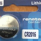 1-Renata CR2016 ECR2016 BR 2016 Battery