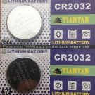 2 Pcs-Tiantan CR2032 BR2032 ECR2032 Battery