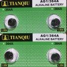 2-AG1 (4 Qt.)Tianqiu SR621 LR621 364 LR60 164 LR621  battery