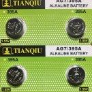 2-AG7 (4 Qt.) Tianqiu 395 399 SR927SW AG7 LR927 battery