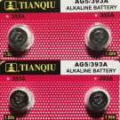 2-AG5 (4 Qt.) Tianqiu 393 LR48 SR754 G5 ALKALINE BUTTON CELL battery