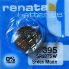1-Renata 395 Battery SR927SW 399 Silver Oxide