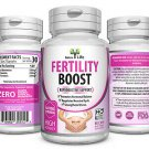 FEMALE FERTILITY BOOST SUPPORT HORMONAL BALANCE AID CONCEPTION PREGNANT PILLS  NTS