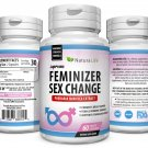 PUERARIA MIRIFICA FEMINIZER Breast Growth Female Hormone Trans Sex Change Pills NNH