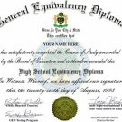 Ged High School Personalized Novelty Diplomas Authentic Looking