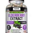 Immune Support 60Ct, Elderberry, Daily Immune and Antioxidants, 1200 mg Capsules