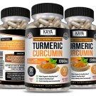 Turmeric Curcumin Bioperine, High Absorption Triple Strength Capsules Joint Pain