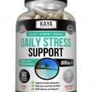 Natural Anti Anxiety & Stress Relief 60 Capsules, Combat Stress, Non-Drowsy