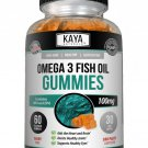 Omega 3 Fish Oil, 60 Count Gummies, Aids Healthy Joint Function & Heart Wellness