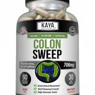 Colon Sweep, Digestive Health, Colon Cleanse, Extra Strength Detox 60 Capsules