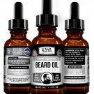 Beard Growth Oil for Men, Beard, Mustache, Facial Hair Grooming- Unscented
