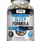 (2 Pack) Melatonin Plus Sleep Aid 60ct, Fall Asleep Stay Asleep, Sleeping Pills
