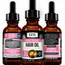 Hair Growth Oil, Thickness, Anti-Frizz, Shine and Softness- Orange Blossom Scent
