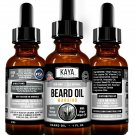 Beard Growth Oil for Men, Beard, Mustache, Facial Hair Grooming- Warrior Scent