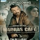 Madras Cafe(2013)- Indian /Hindi/Bollywood Movie Blu Ray Disc
