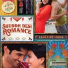 Shuddh Desi Romance (2013)- Indian Hindi Bollywood movie Blu Ray