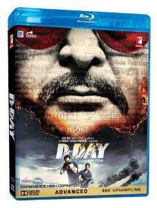 D-DAY-BOLLYWOOD / HINDI / MOVIE BLU RAY DISC