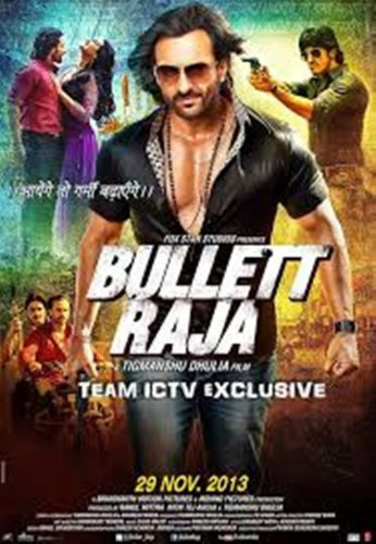 Bullett Raja (2013) -Indian Hindi Bollywood Movie DVD