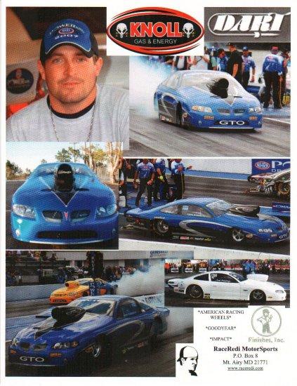 2007 NHRA PS Handout Justin Humphreys (Race Redi #2)